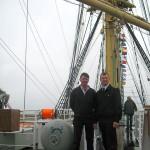 Balise N°61, Clandestino, à bord du Kruzenshtern, 2008