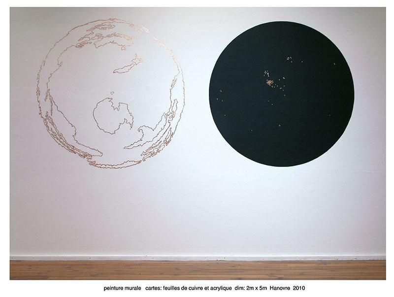 Wall drawning, Kunsthalle de Hanovre, 2010